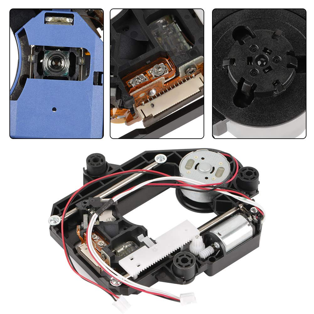 Optical Pick-Up Laser Lens Mechanism, Walfront KHM-313AAA Optical Pick-Up Laser Lens Mechanism Optical Drive Replacement Parts (Black) by Wal front (Image #4)