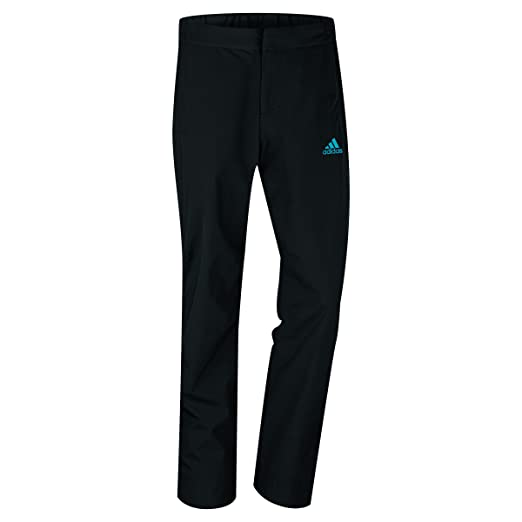 Amazon.com : Adidas Golf GoreTex 2-Layer Pant Black/Solar ...