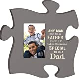 Takes Someone Special To Be A Dad 4x6 Photo Frame Inspirational Puzzle Piece Wall Art Plaque