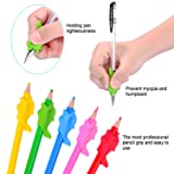 16 Pieces Pencil Grips 3 Types Children Pencil