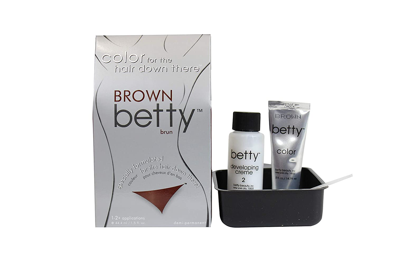 Amazon Betty Beauty Color For The Hair Down There Brown Betty