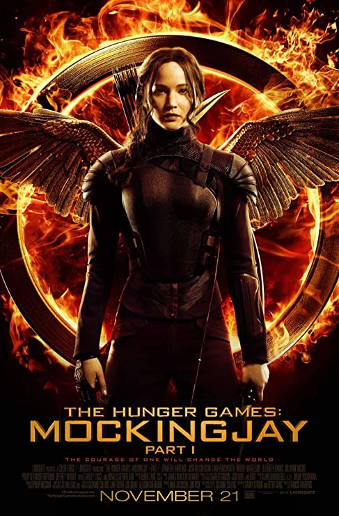 Amazon.com: HUNGER GAMES MOCKINGJAY PART 1 MOVIE POSTER 1 Sided ...