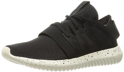sports shoes 3a86e f72e6 Adidas Originals Women s Tubular Viral W Running Shoe, Black Black Core  White,