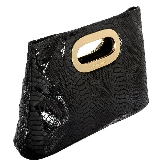 8ceb68ef3e85 MICHAEL Michael Kors Berkley Pochette femme Noir one size  Amazon.fr  Chaussures  et Sacs