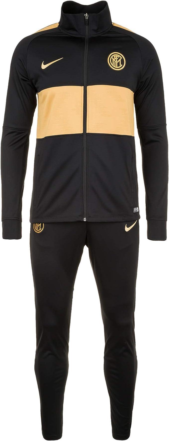 Nike Inter M Nk Dry Strk TRK Suit K Chándal, Hombre, Black/Black ...