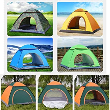 Baorin Outdoor Travel Hiking Portable Lightweight Fully Automatic Camping Tent Kit Family Camping Tents