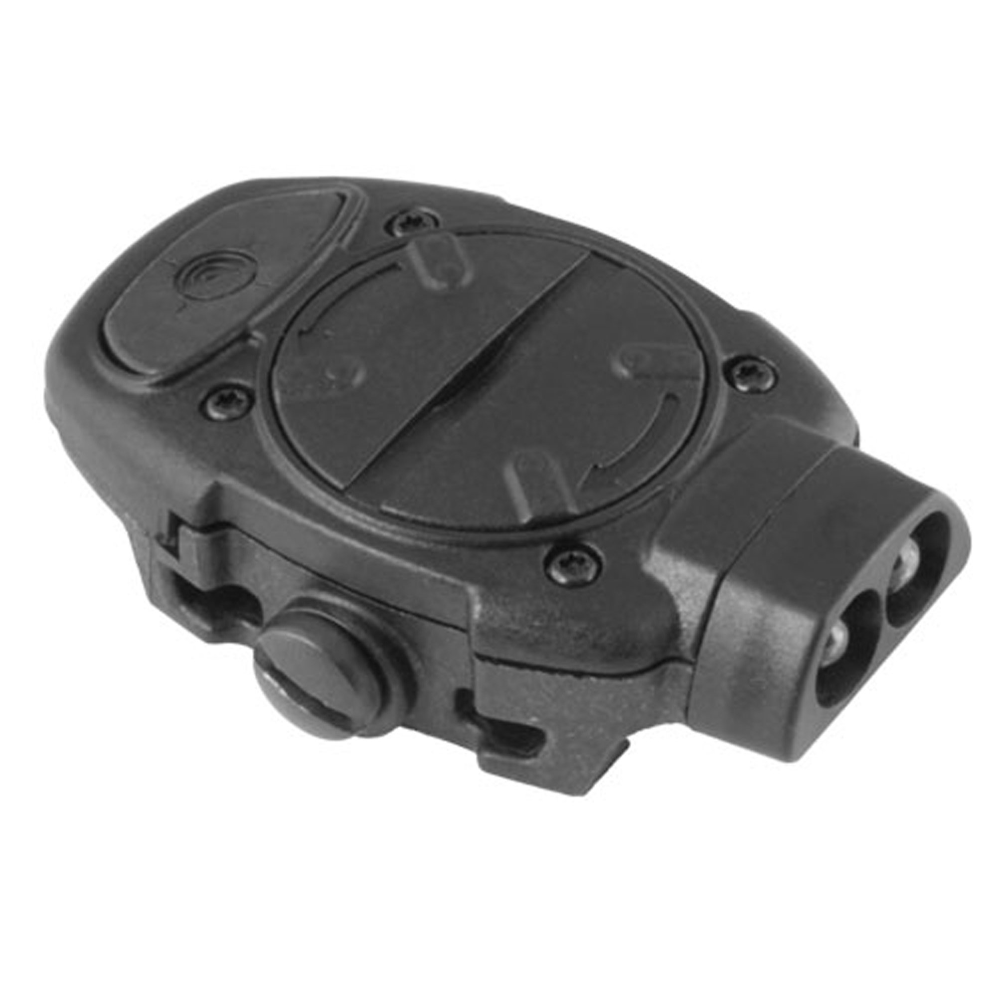 Mission First Tactical Torch Back Up Picatinny Mounted IR/Red Light, Black
