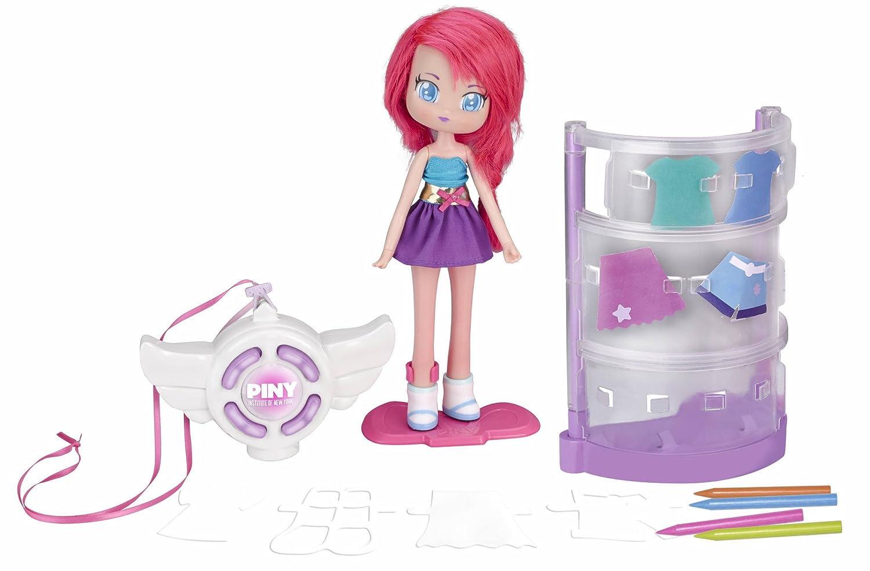 PINY - KT Fashion Tester con muñeca Michelle (Famosa 700013626): Amazon.es: Juguetes y juegos