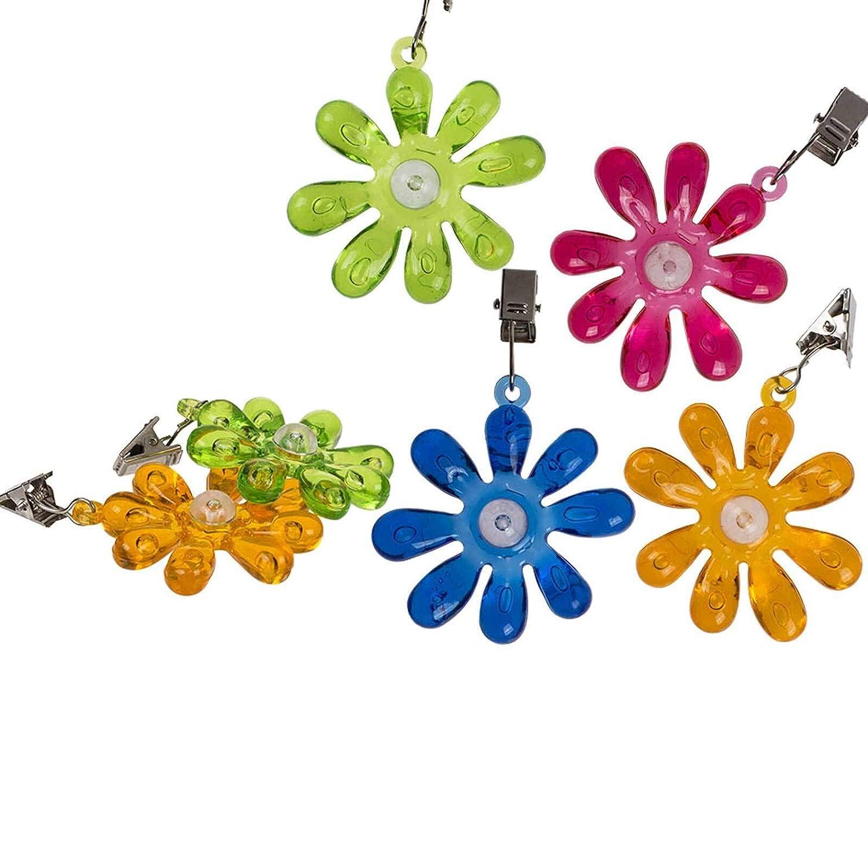 SIDCO Tischdeckenbeschwerer 4 St/ück Blumen Tischtuchbeschwerer Tischdeckengewichte
