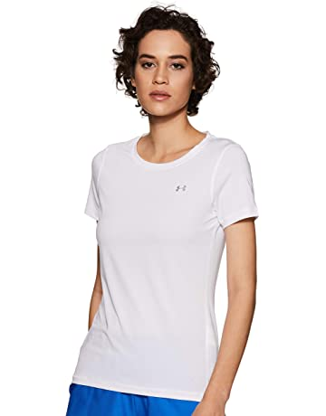 945cddbf4da Under Armour Heatgear Armour SS Camiseta, Mujer