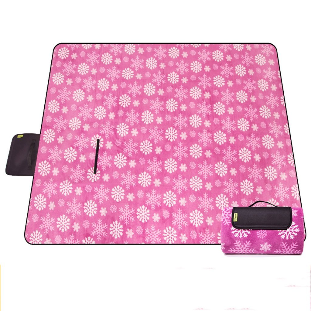 YOTA HOME Picknick-Matte Feuchtigkeitsspendende Pad Verdickung Picknick Tuch Picknick Matte Picknick Matte Strandmatte 200  200 cm, Picknickdecken