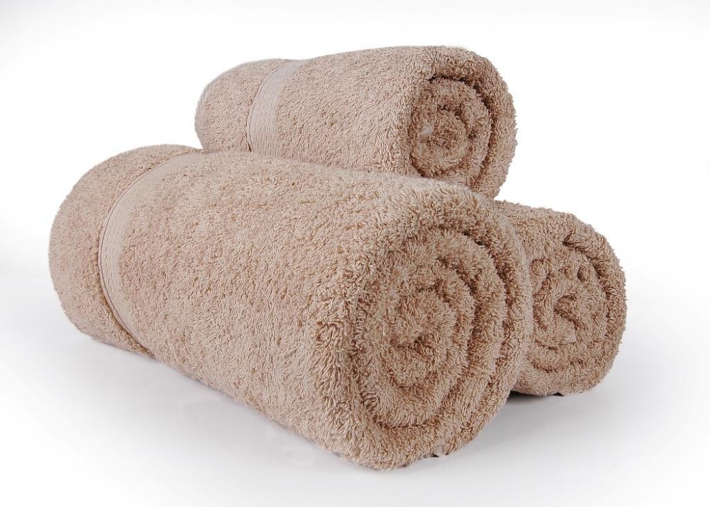 West Lane linens 625 G/m² 100% peinado algodón egipcio 8 pc hoja de baño café Color: Amazon.es: Hogar