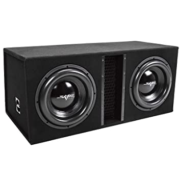 Amazon.com: Skar Audio EVL-Loaded-Enclosure-Parent Negro ...