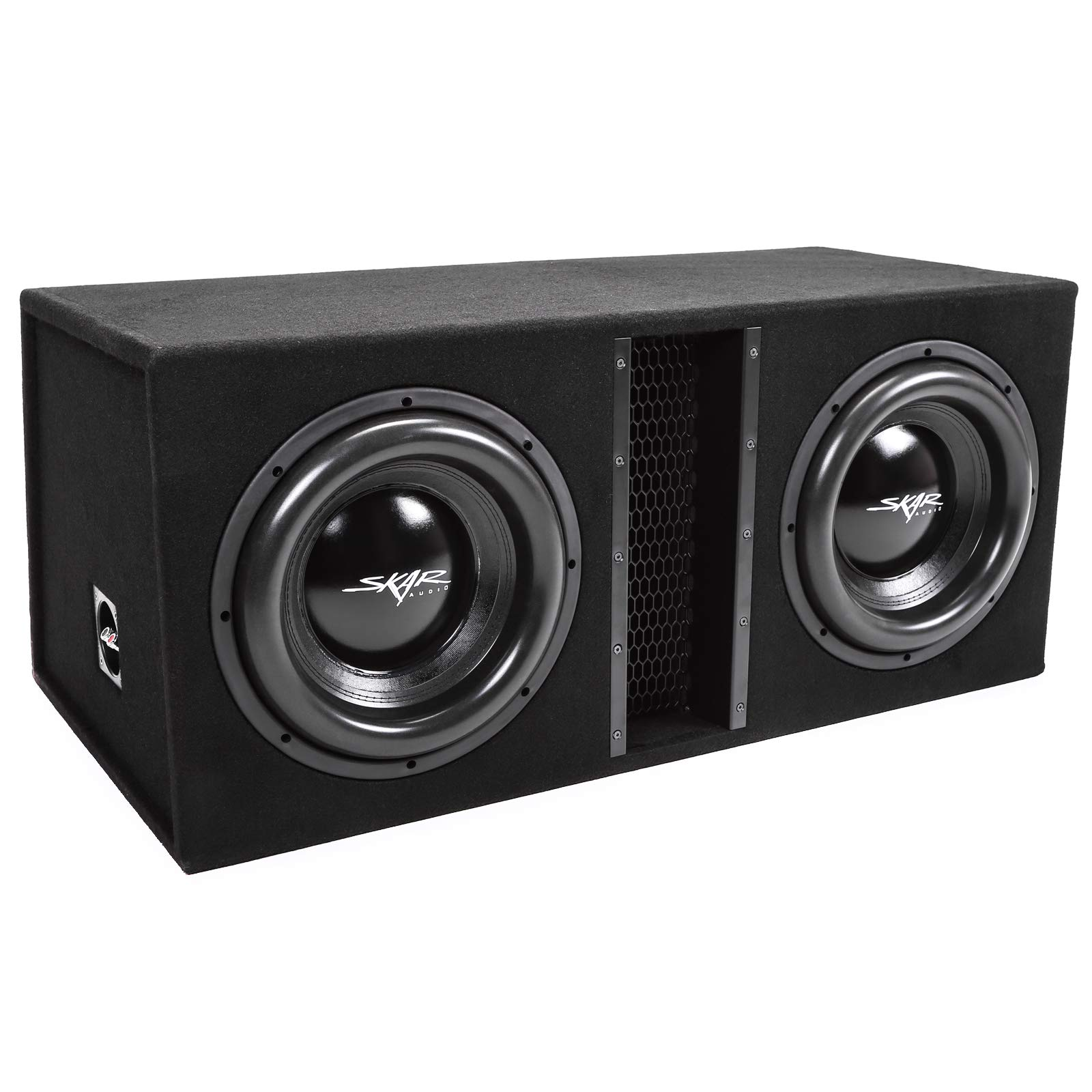 Skar Audio Dual 12'' 5000W Loaded EVL Series Vented Subwoofer Enclosure | EVL-2X12D4