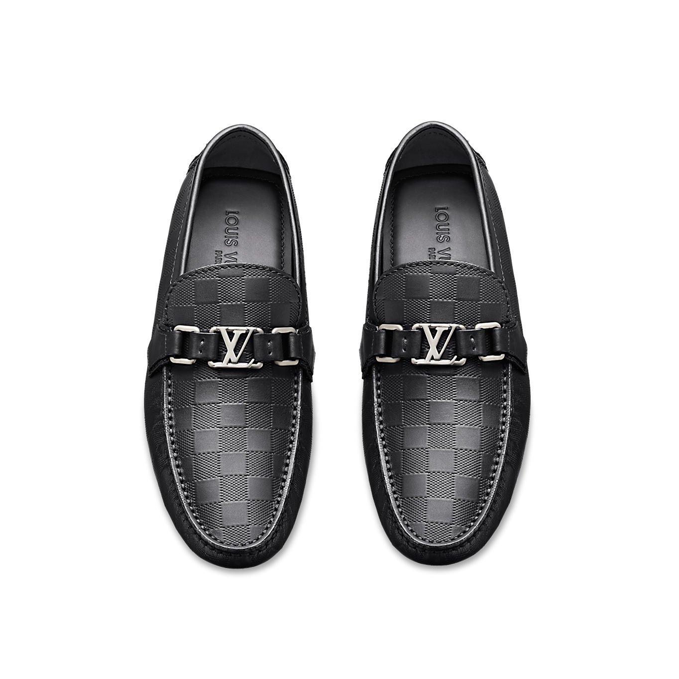 Louis Vuitton - Mocasines de Otra Piel para Hombre Negro Onyx: Amazon.es: Zapatos y complementos