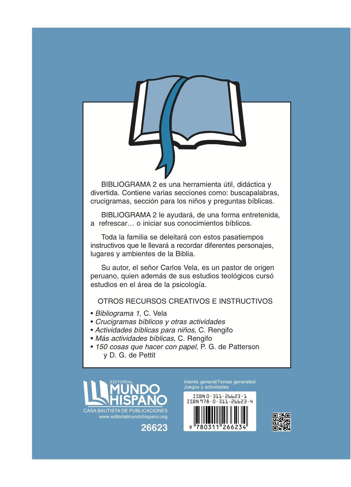 Bibliograma 2 Spanish Edition Carlos Vela 9780311266234 Amazon