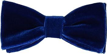 772fe650e2de Mrs Bow Tie Velvet Bow Ties, Standard, Pre-Tied, Self-Tying