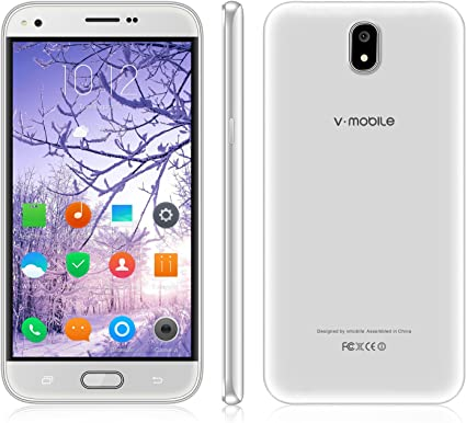 Amazon.com: 4G V móvil J5-N barato desbloqueado Smartphone 5 ...