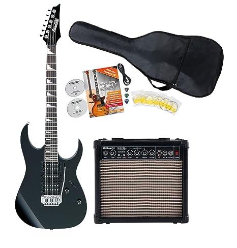 Ibanez grg170dx de IJM21RU-BKN S de guitarra Starter Set