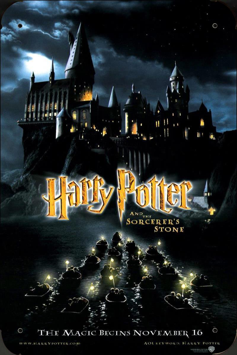Harry Potter And The Sorcerers Stone Ver2 pelicula metal ...