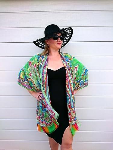 Amazon.com  Green kimono Jacket 48ec7ee14