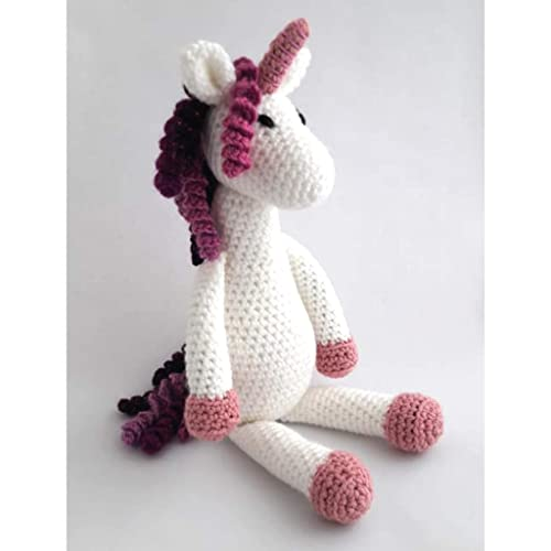 Ideas | Twinkle Toes the Unicorn Crochet Pattern | 500x500