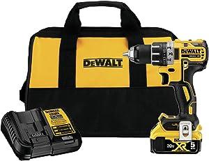 DEWALT DCD791P1 20V MAX XR Brushless 1/2 in. Cordless Drill/Driver Kit