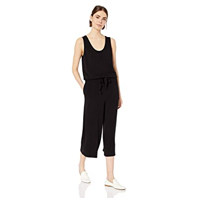Brand - Daily Ritual Women's Supersoft Terry Sleeveless Wide-Leg Jumpsuit: Clothing