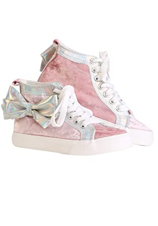 75718163633 Amazon.com  JoJo Siwa Pink High Top Sneakers w Bow  Clothing