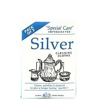 Wie Reinigt Silber 2 x silberputztücher silberputzmittel reinigungstuch politur silber