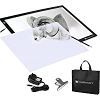 Voilamart A2 LED Light Box Ultra-Thin LED Tracing Board Adjustable Brightness Light Pad Artcraft Tattoo Animation…