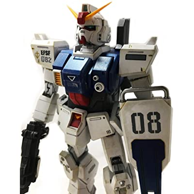 Master Grade RX-79 (G) Land Type Gundam 1/100 Scale Model Kit: Toys & Games