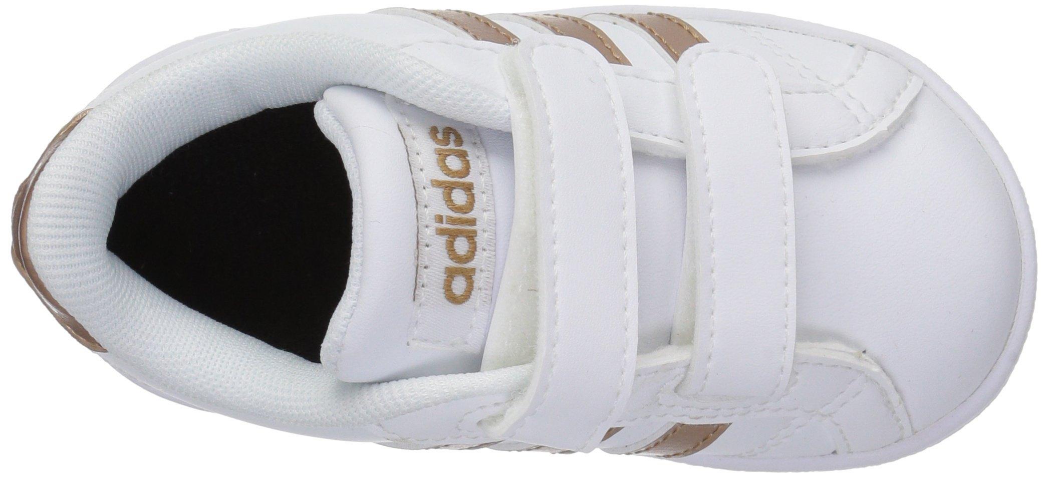 adidas Performance Baby Baseline, White/Copper Metallic/Black, 6K M US Toddler by adidas (Image #10)