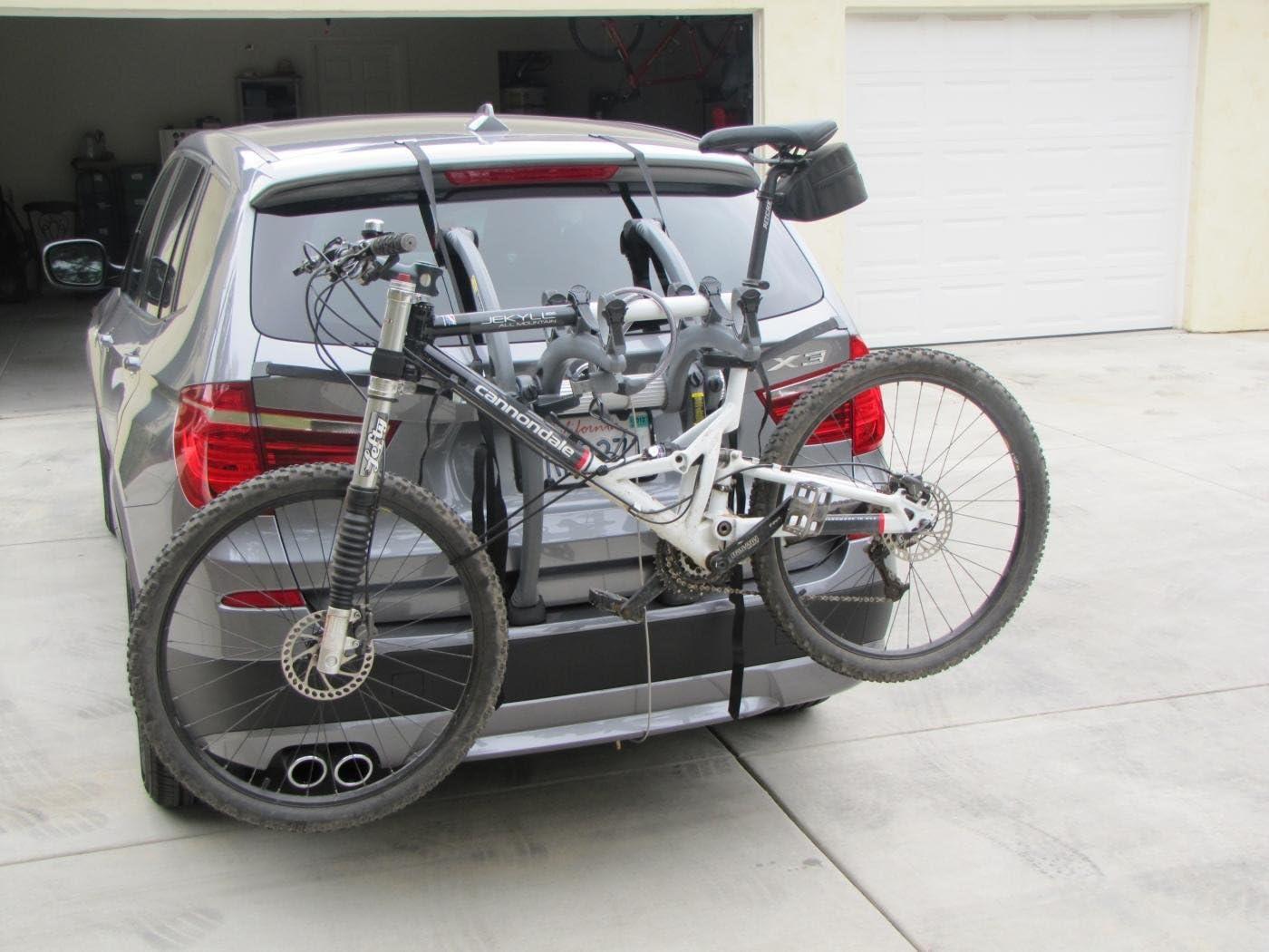 Bmw X3 Bike Rack Bike Rack Cycle Carrier Huggers With Flap Amazon De Auto