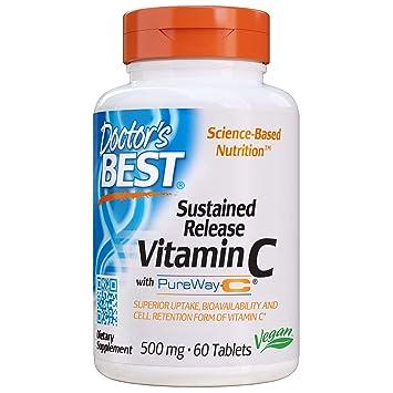 Doctors Best Vitamina C De Liberación Sostenida Con Pureway-C ...
