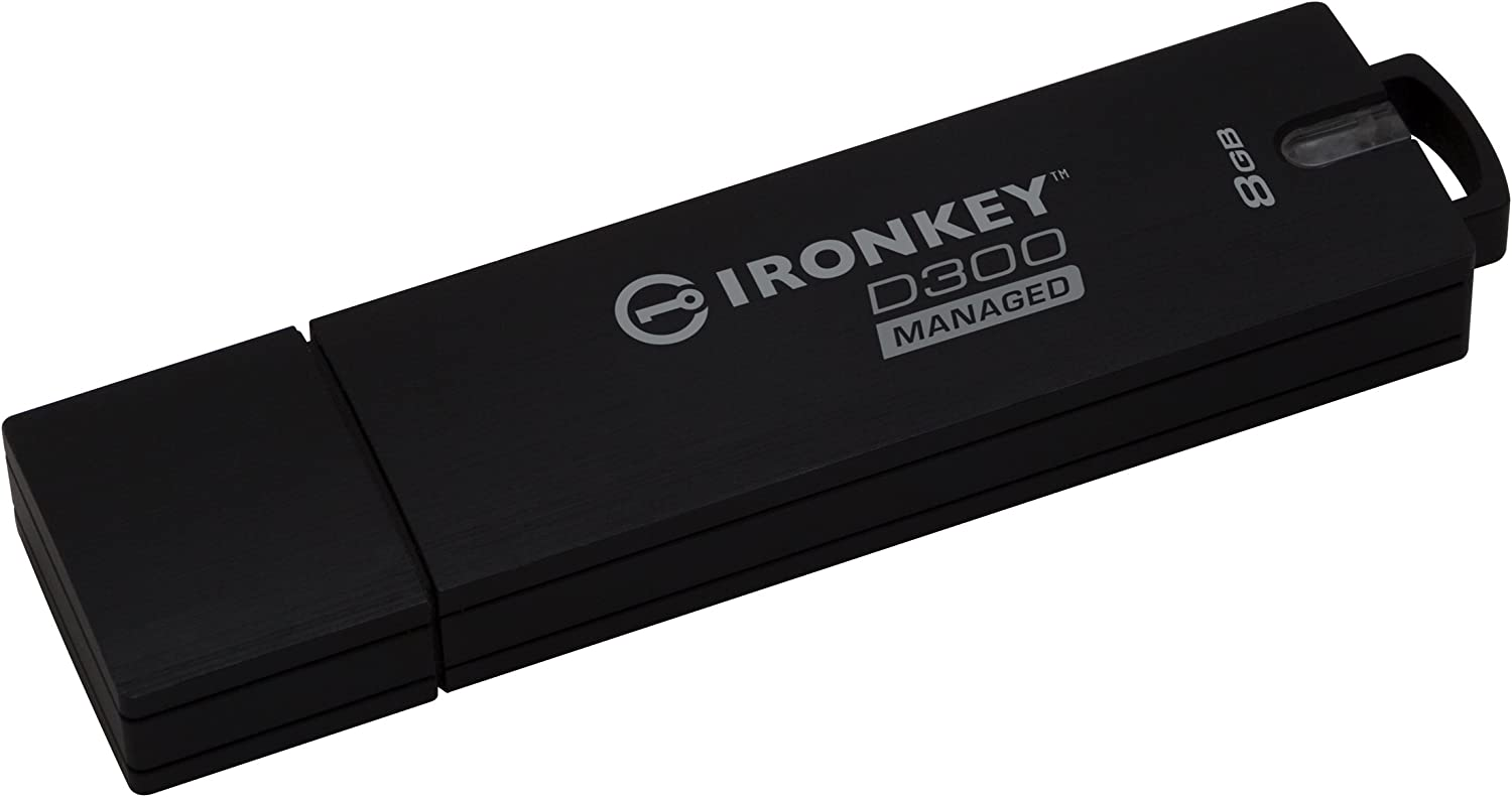 Kingston IKD300SM//32GB MF IKD300SM 32GB 32GB D300SM AES 256 XTS Encrypted USB Drive Retail