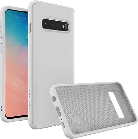 Amazon Com Rhinoshield Case Compatible With Samsung Galaxy S10 Solidsuit Shock Absorbent Slim Design Protective Cover With Premium Matte Finish 3 5m 11ft Drop Protection Classic White
