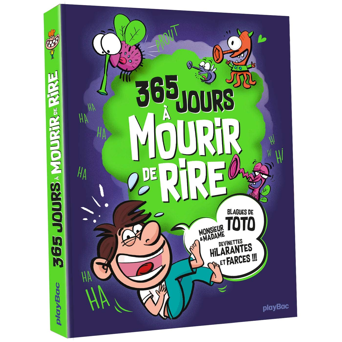 365 jours à mourir de rire: Plus de 2000 blagues pour rigoler toute l'année Broché – 10 octobre 2018 Play Bac 2809664269 JUVENILE NONFICTION / General Calendrier-agendas