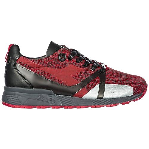 Diadora Heritage Zapatos Zapatillas de Deporte Hombres Nuevo N9000 H Rojo EU 42 201.172783: Amazon.es: Zapatos y complementos