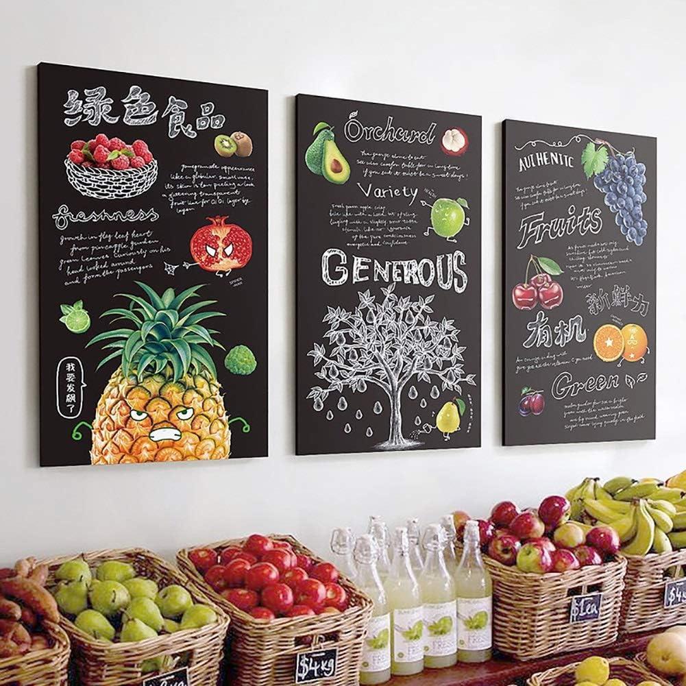 QBDS Decoración de Pared, Tienda de Frutas, Estilo Industrial ...