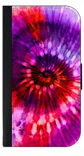 Amazon Com Pink Red Purple Trippy Tie Dye Print Design