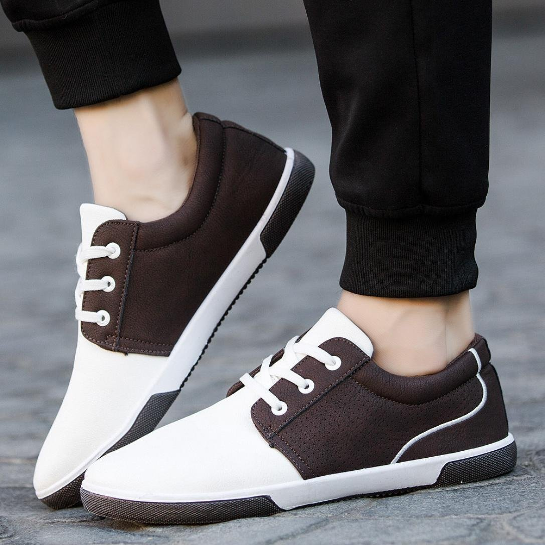 Promotion! Men Shoes, Neartime Men's Autumn Casual Patchwork Shoes Fashion British Style Loafers Adult Moccasins Shoes