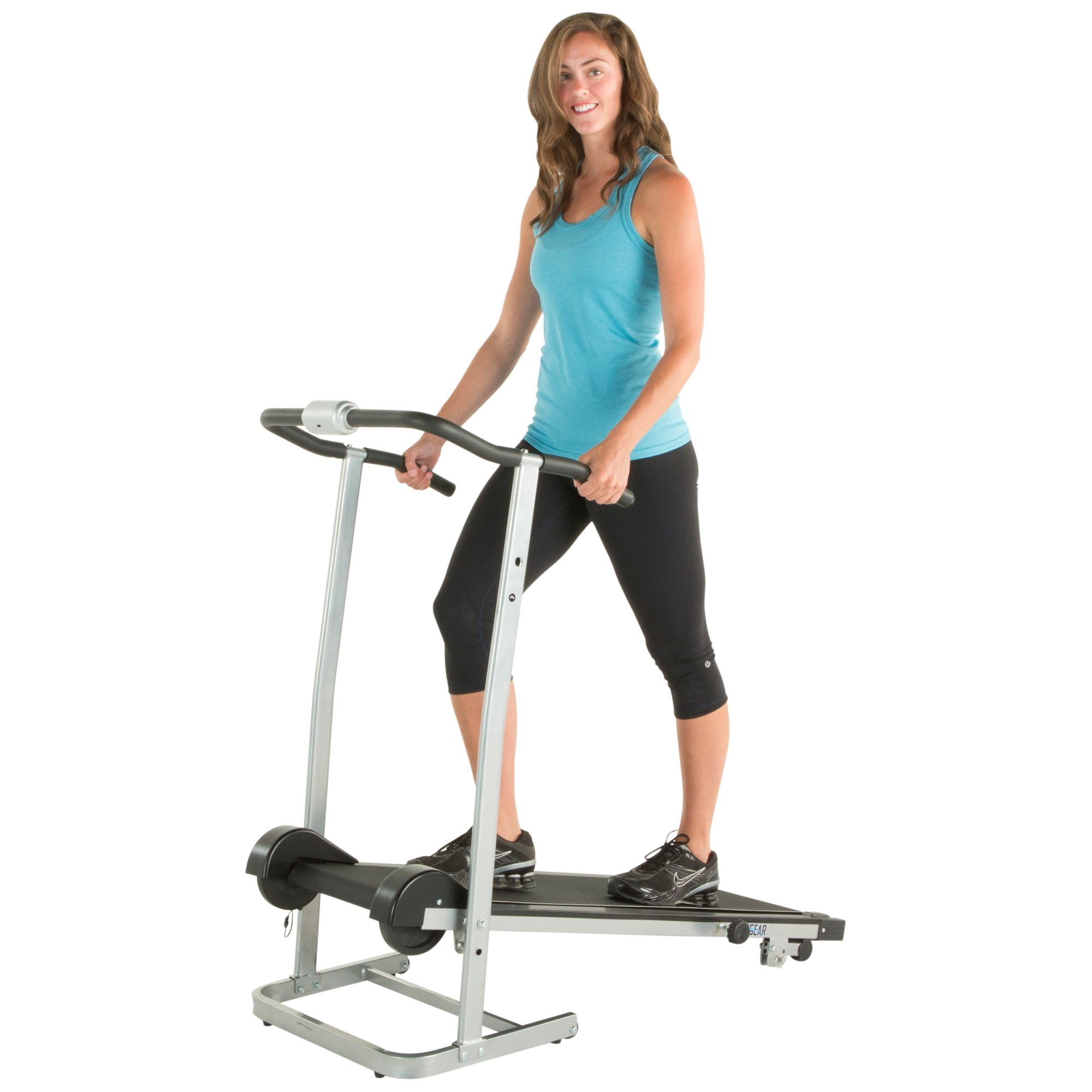 ProGear 190 Manual Treadmill with 2 Level Incline and Twin Flywheels by ProGear