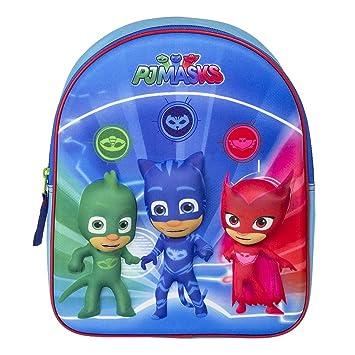 PJ Masks 610-8436 Superheroes - Mochila Infantil 3D (31 cm): Amazon.es: Juguetes y juegos