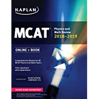 MCAT Physics and Math Review 2018-2019: Online + Book