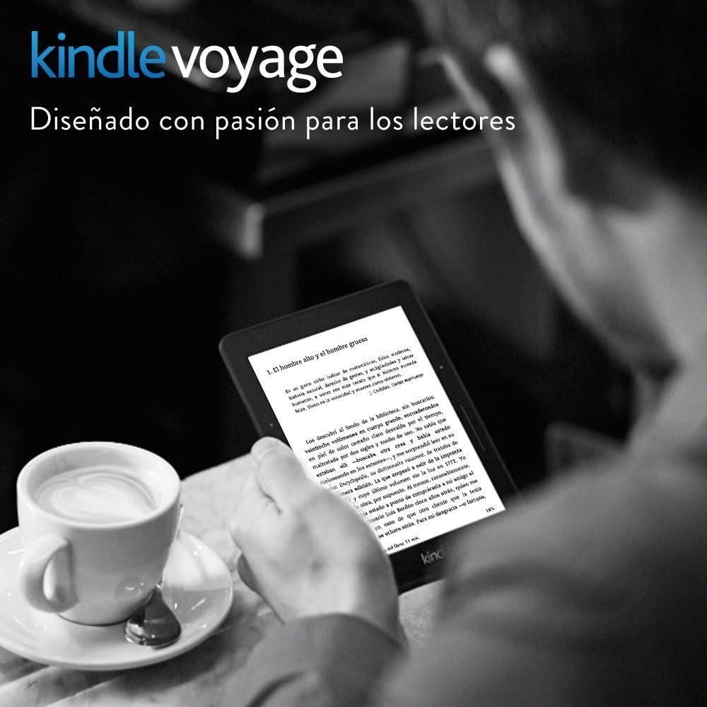 E-reader Kindle Voyage, pantalla de 6 (15,2 cm) de alta ...