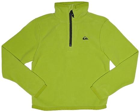 Quiksilver Aker Half - Sudadera para niño, tamaño T10 / S, color verde