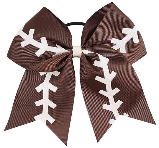 0121d2dabfc58 baby hair bows - football hair bow - baseball hair bow - softball hair bow  - football game apparel - football game apparel - baseball game apparel ...
