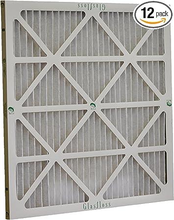 Glasfloss Industries ZLP16242 Z-Line Series ZL MERV 10 Pleated Filter 12-Case