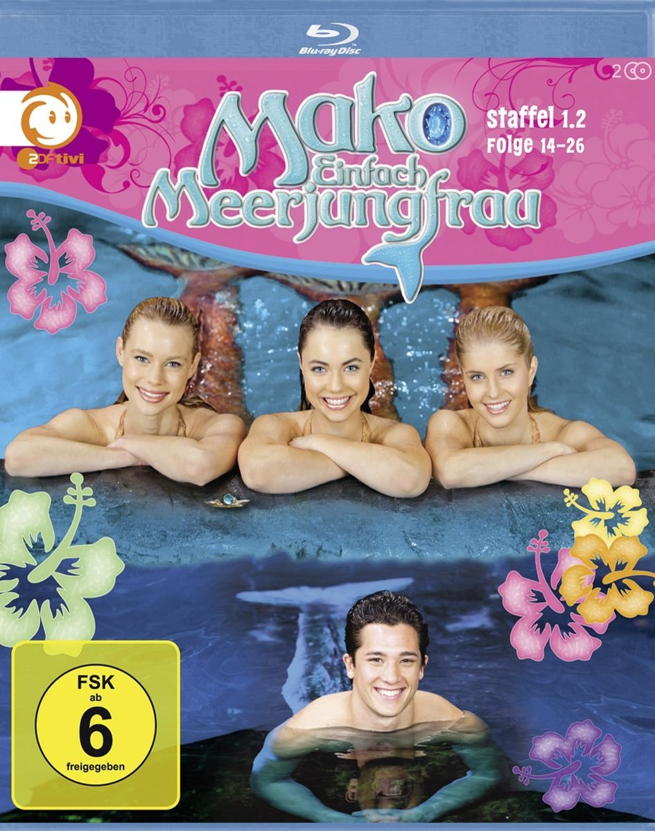 Mako Mermaids - Season 1 (Ep  14-26) - 2-Disc Set ( Mako Mermaids - Season  One (Episodes 14 - 26) ) [ Blu-Ray, Reg A/B/C Import - Germany ]